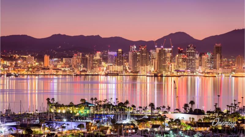 San Diego, la baia