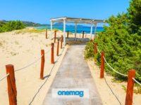 La suggestiva spiaggia di Costa Rei in Sardegna