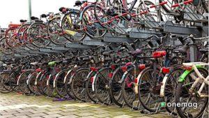 Parcheggio di biciclette ad Utrecht