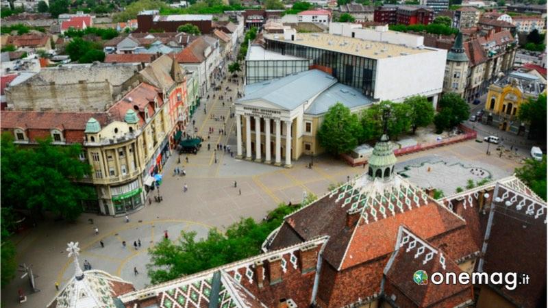 L'archittetura di Vojvodina