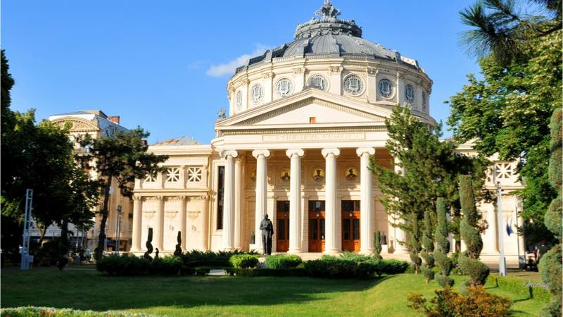 Bucarest, palazzo Athenee