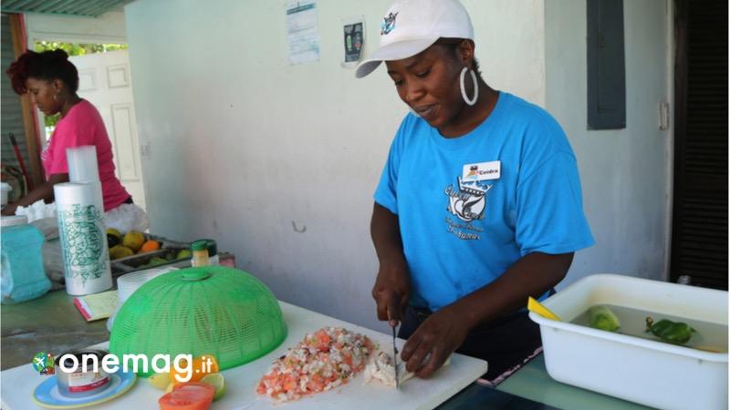 Eleuthera, vacanza nelle Bahamas, la gastronomia