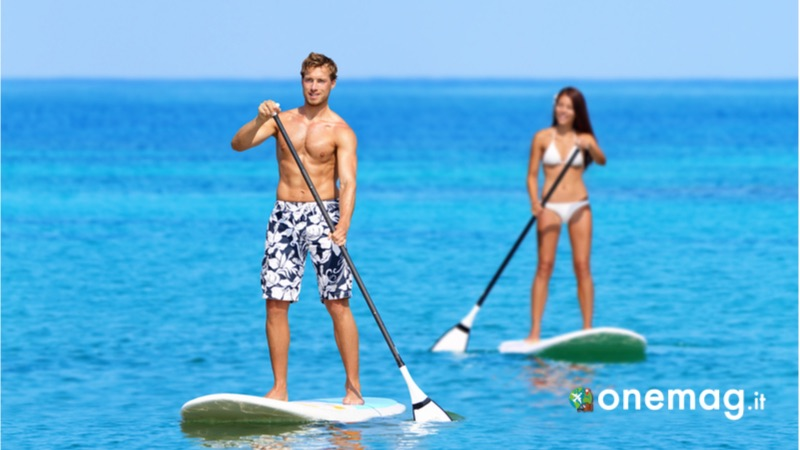 Eleuthera, vacanza nelle Bahamas, lo stand-up paddle