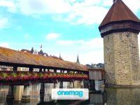 Kapellbrücke, il ponte più famoso di Lucerna