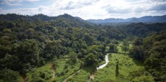 La regione de La Mosquitia dell'Honduras