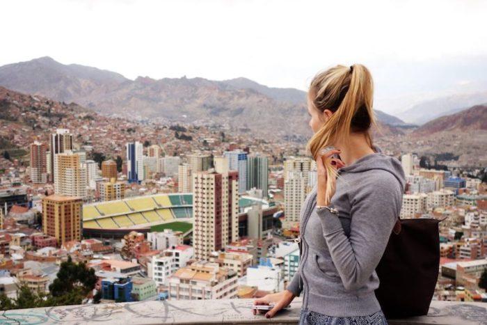 La Paz, la capitale amministrativa della Bolivia