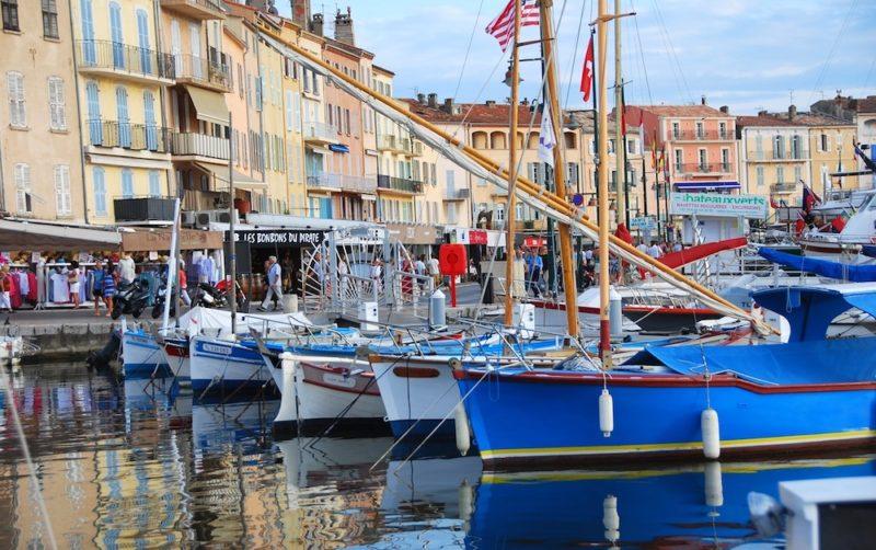 Luoghi da visitare Saint Tropez, porto