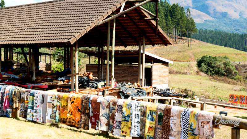 Guida del Botswana, bancarelle di artigianato locale
