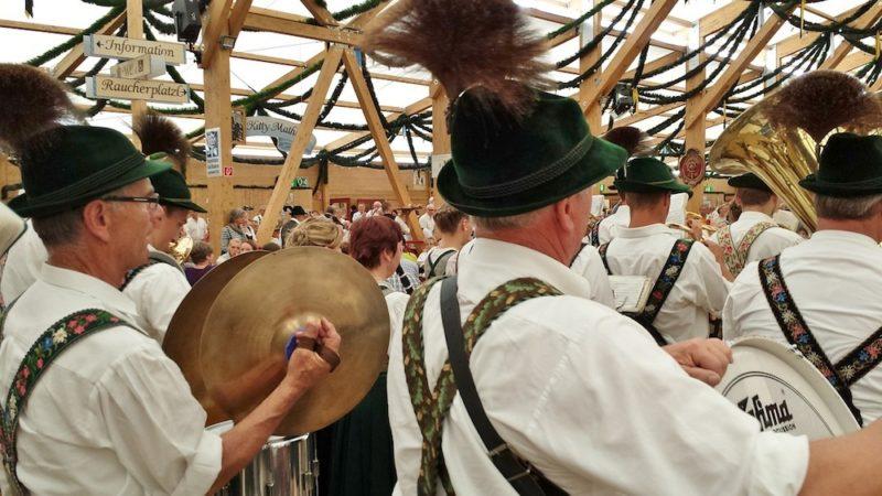 Banda di ottoni, Oktoberfest Monaco