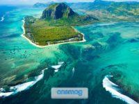 La cascata sottomarina delle Mauritius