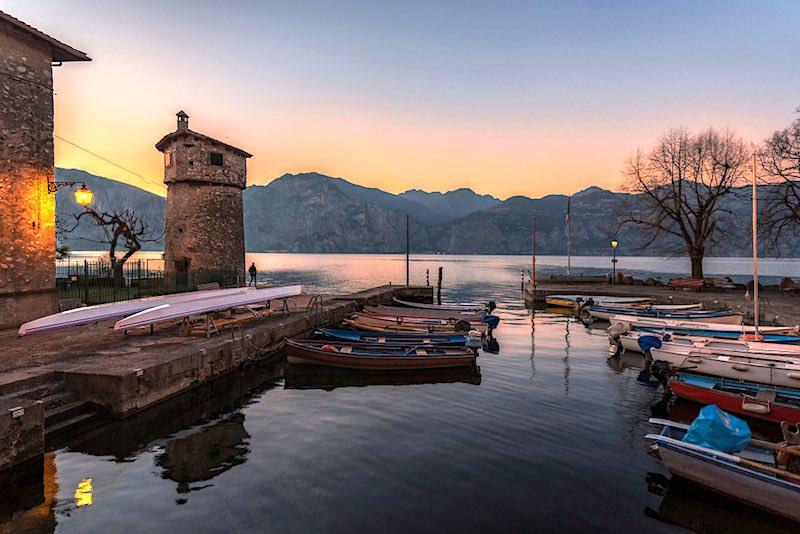 Il fiume più corto d'Italia a Cassone Malcesine