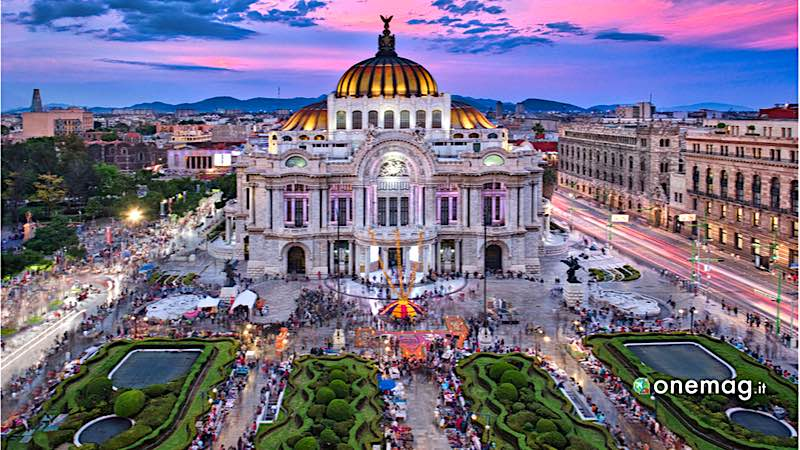 Città del Messico, Palacio of Bellas Artes