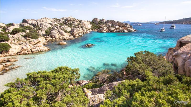 L'isola di Caprera, Sardegna