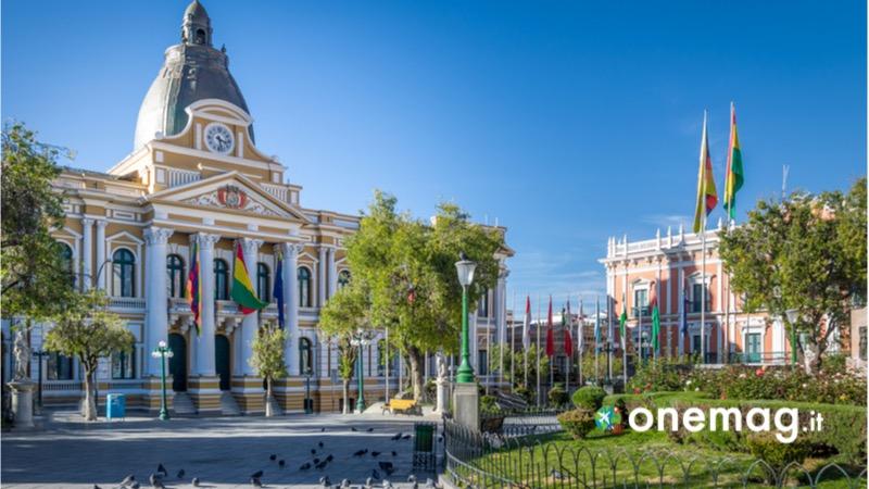 Cosa vedere a La Paz, piazza vecchia, casco Viejo