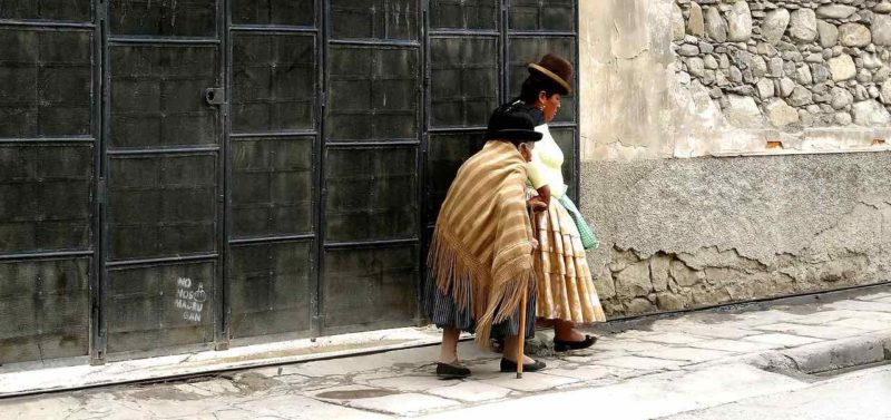 La Paz, popolo