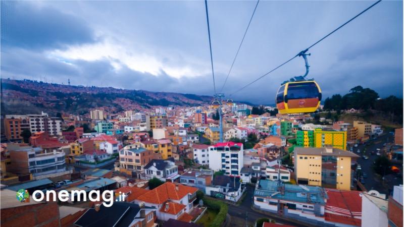 Cosa vedere a La Paz, la funevia più alta del mondo