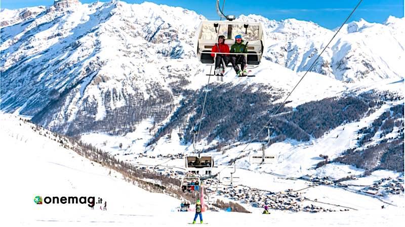 Livigno, ski lift