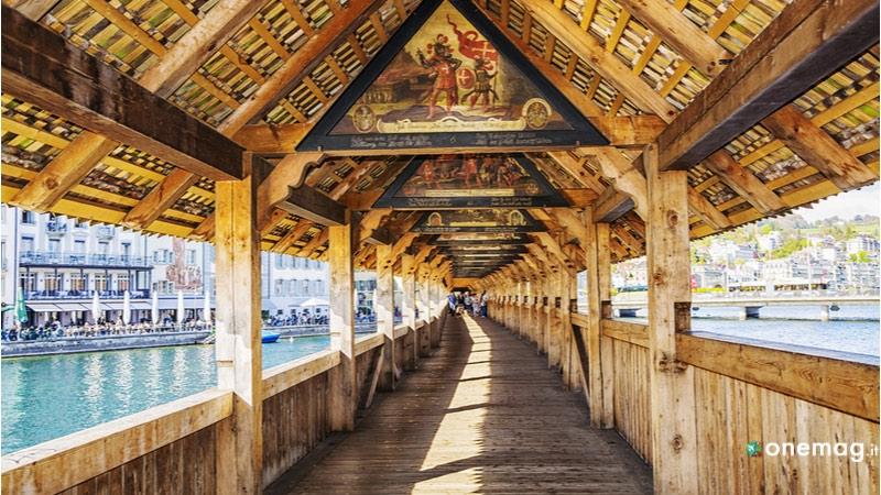 Lucerna, Ponte di legno
