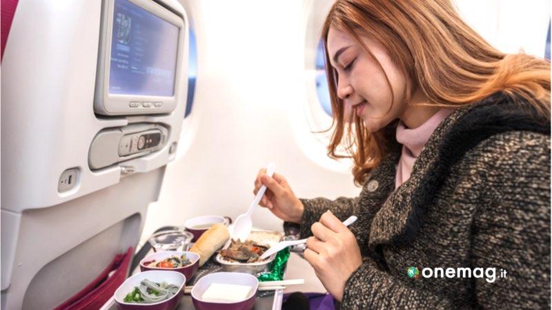 Mangiare in aereo