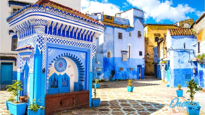 Case Blu Marocco : Le 10 città più belle del marocco onemag idee di viaggio