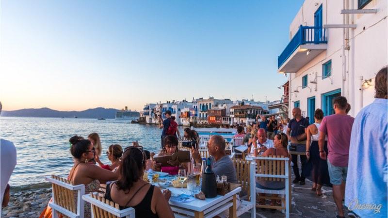 Mykonos, l'isola della movida greca