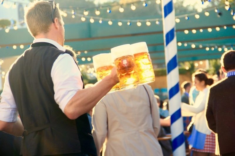 Birra all'Oktoberfest Monaco