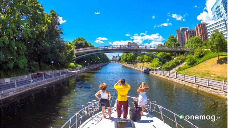 Capitale del Canada, Ottawa, il canale Rideau