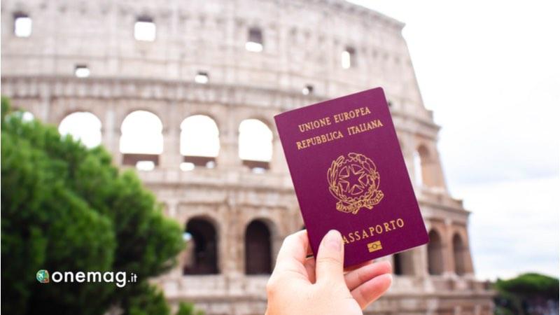 Passaporto e relativo visto turistico