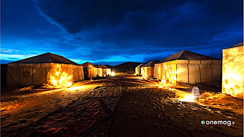 Sahara, accampamento