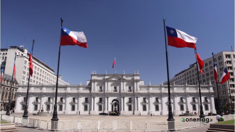 Santiago del Cile, Palacio de la Moneda