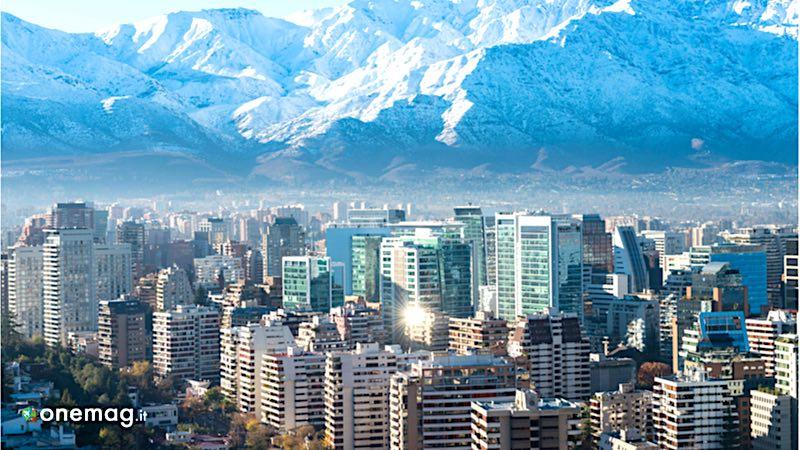 La capitale del Cile, Santiago