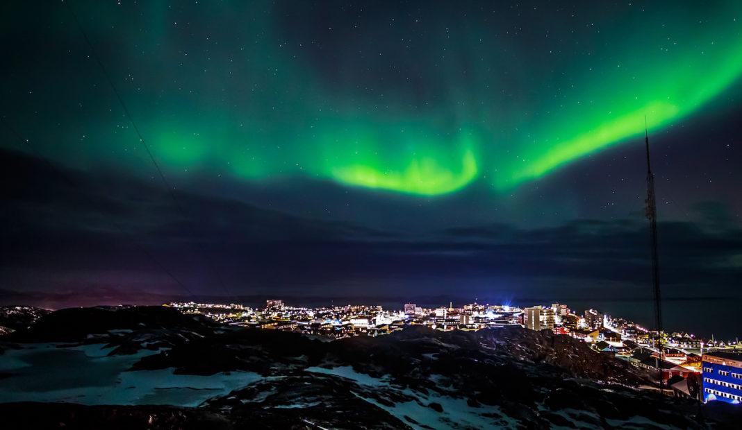 Aurora Boreale Groenlandia