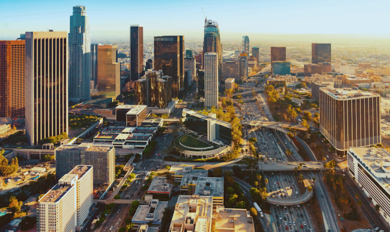 Los Angeles vista dall'alto