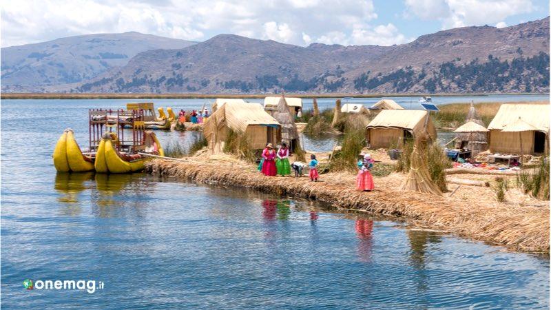 Il lago Titicaca è il lago alpino navigabile più grande al mondo