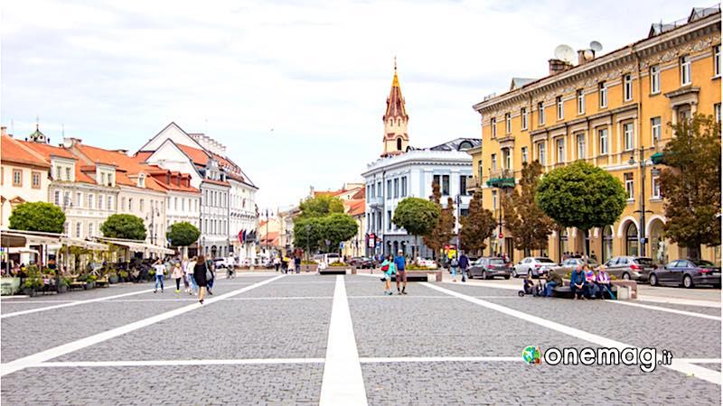 Vilnius, Piazza del Municipio