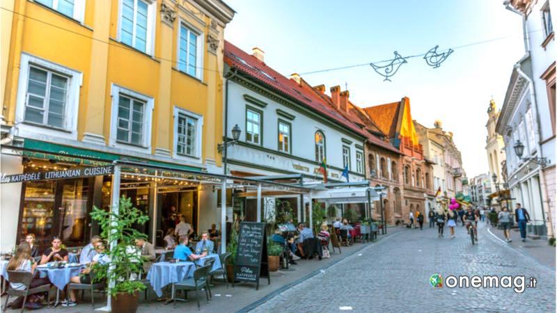 Vilnius, ristorante