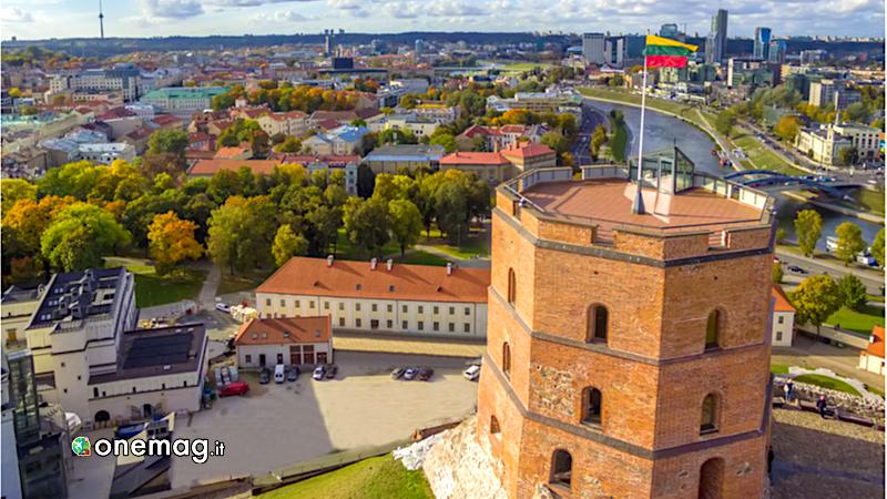 Vilnius, Torre di Gedeminias