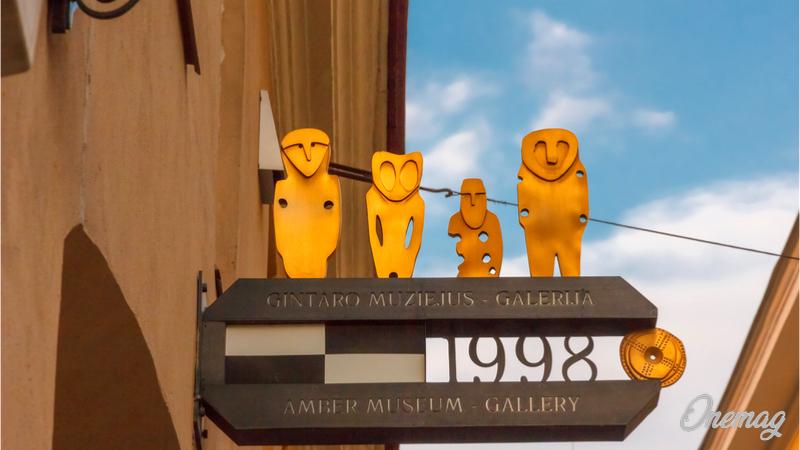 Cosa vedere a Vilnius, Museo dell'Ambra