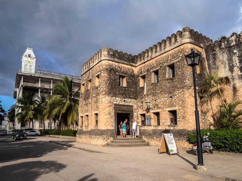 Cosa vedere a Zanzibar, Vecchio Forte