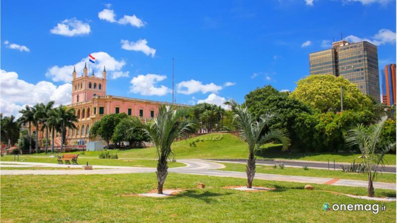 Cosa vedere a Asuncion, il Palazzo del Governo