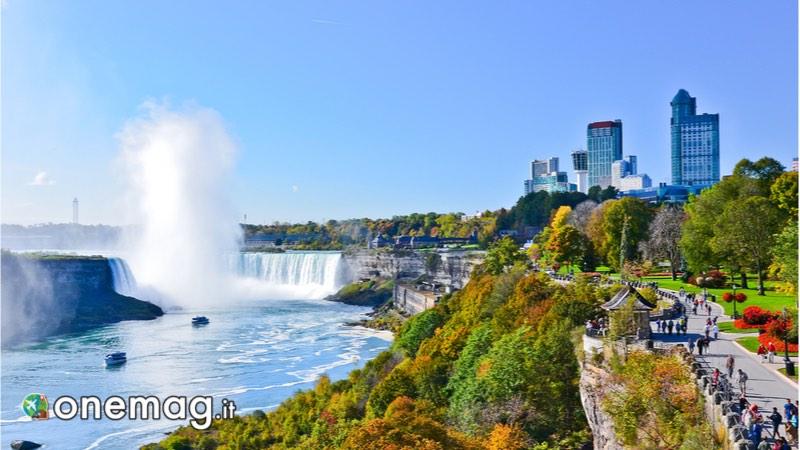 Le origini delle Cascate del Niagara