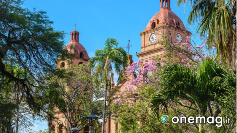 La cattedrale di San Lorenzo, Santa Cruz, Bolivia