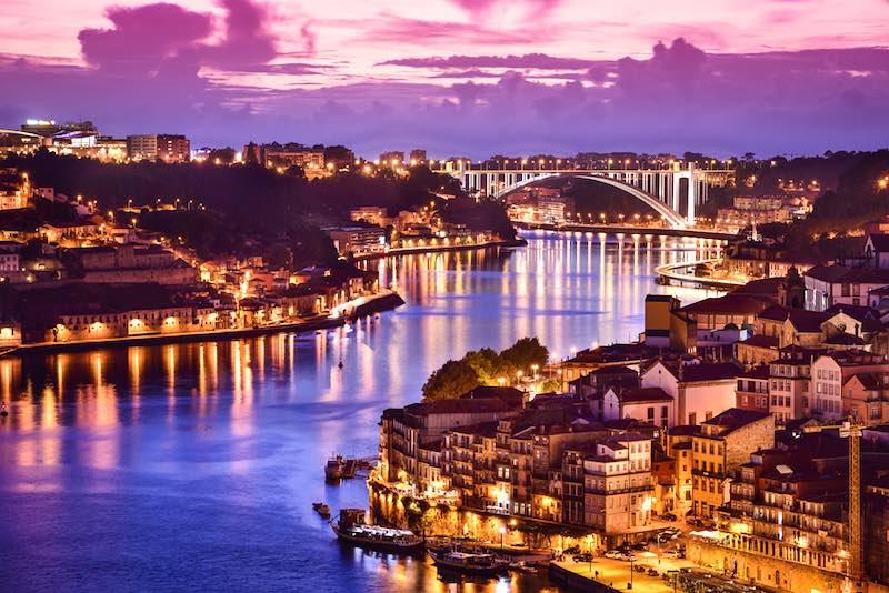 Le mete europee da visitare in Ottobre, Fiume River Portogallo