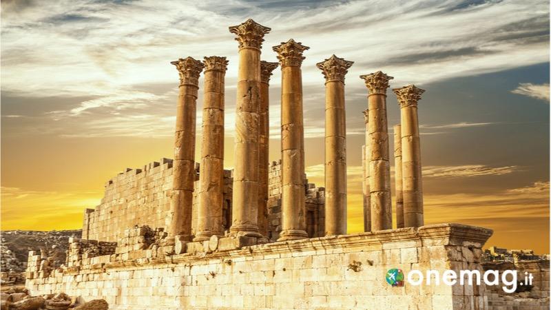 Jerash, un antico borgo romano
