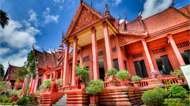 Phnom Penh, Museo Nazionale Cambogia