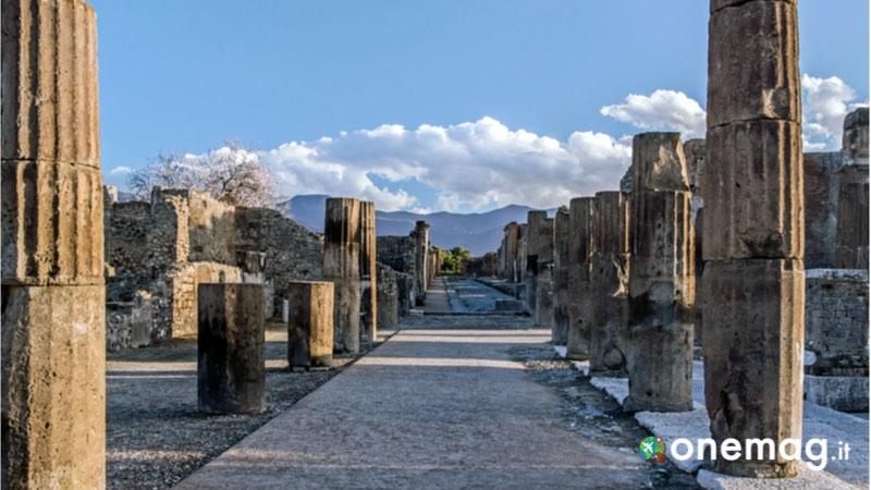Il percorso per visitare Pompei