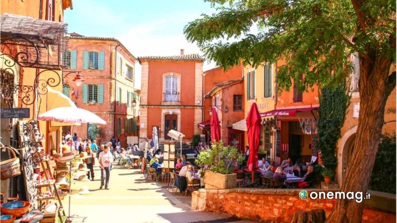 Roussillon, centro storico