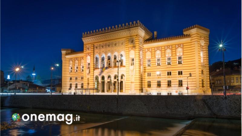 Visitare Sarajevo, guida turistica e cosa vedere,il Municipio di Sarajevo