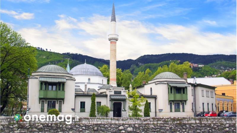 Visitare Sarajevo, guida turistica e cosa vedere, la moschea dell'Imperatore