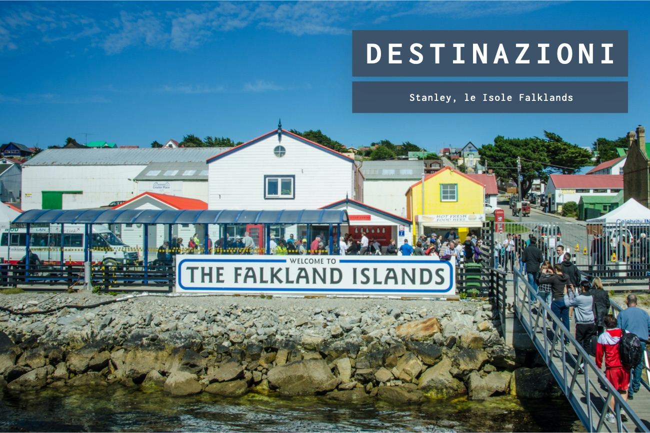 Stanley, il territorio britannico delle Isole Falklands